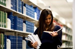 Библиотека с учебными материалами