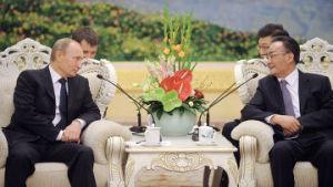 Русско-китайский перевод в политике