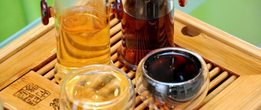 китайский пурпурный чай