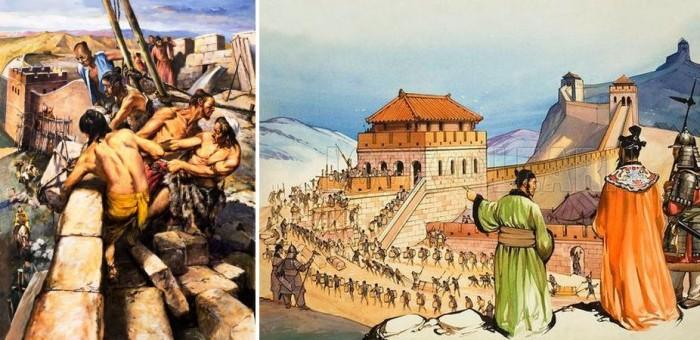 Строительство Большой китайской стены