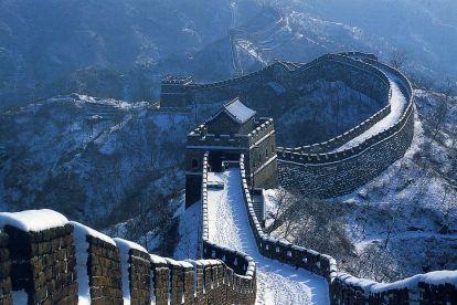 Большая китайская стена, зима