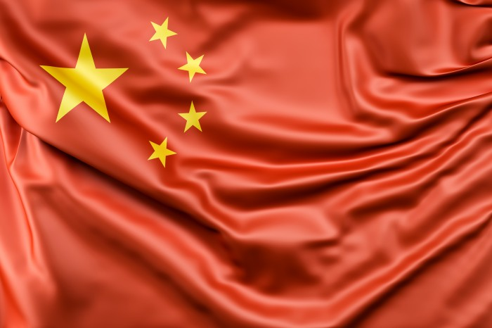 Изображение флага Китая
