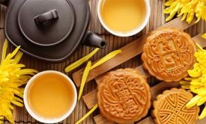 чай и лунное печенье