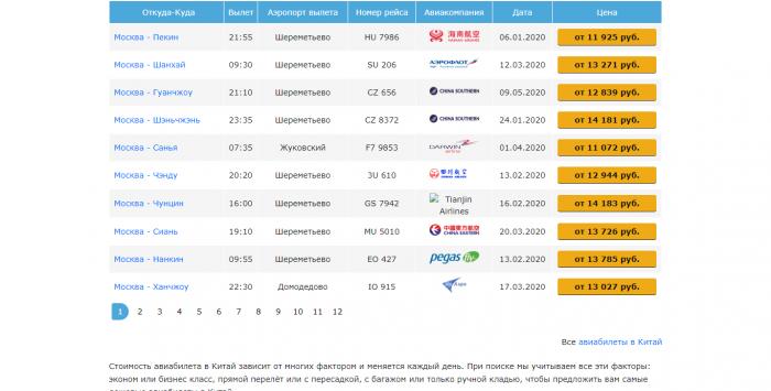 FireShot Capture 002 - Авиабилеты в Китай, купить дешево и сравнить цены билетов на самолет _ - uniticket.ru