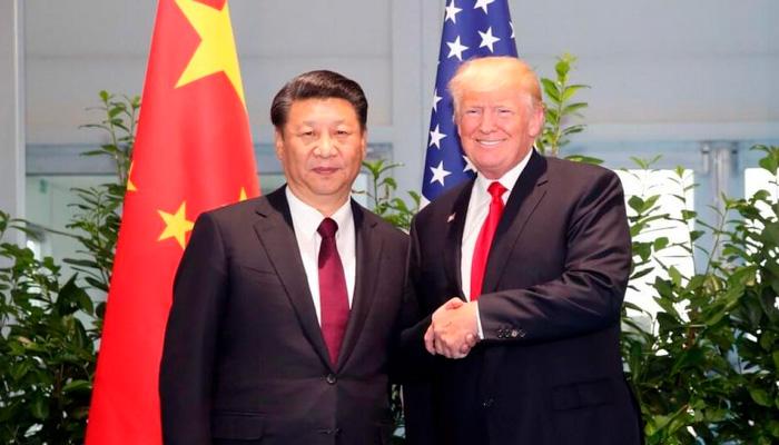 Встреча Дональда Трампа и Си Цзиньпина